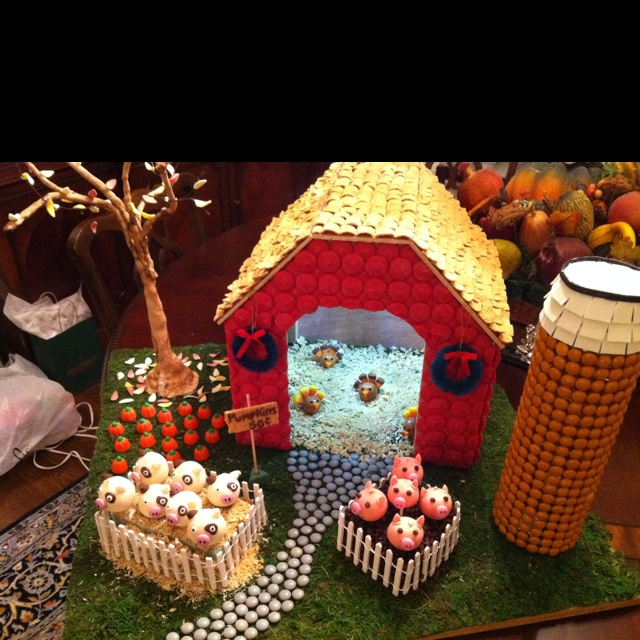 My Gingerbread House Farm For Festival Of Trees