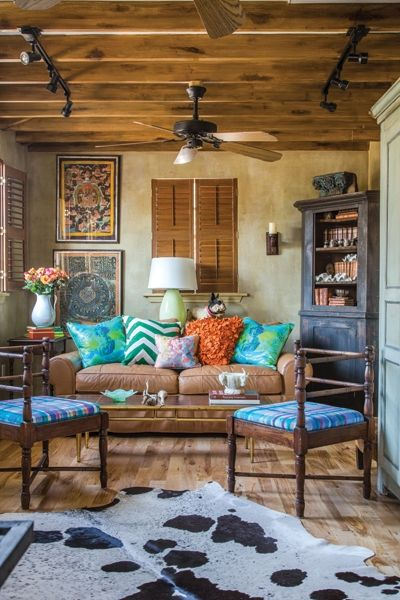 Western Living Rooms Colors