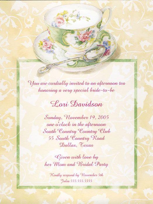 Bridal Shower Invitatio