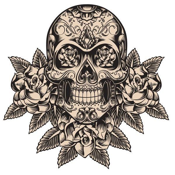 Folk Mexican Stencils Art