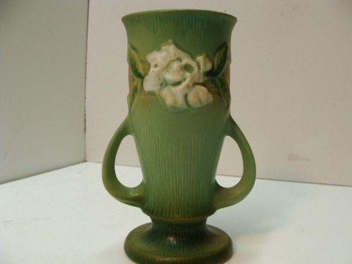 Vase White Wall Pocket Ceramic
