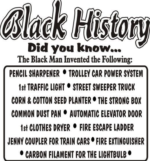 Inventions Inventors And History Black Food