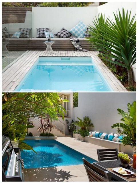 Gabilio Home And Garden Modern Swimming Pools For Small