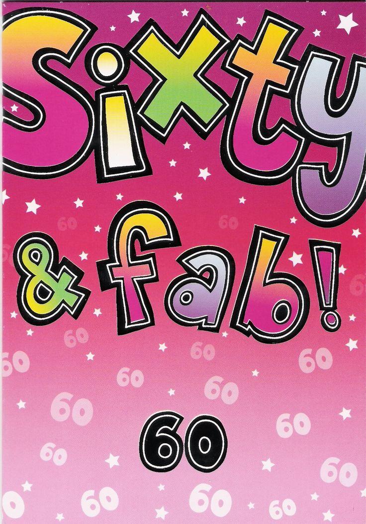 Funny 60th Birthday Cards