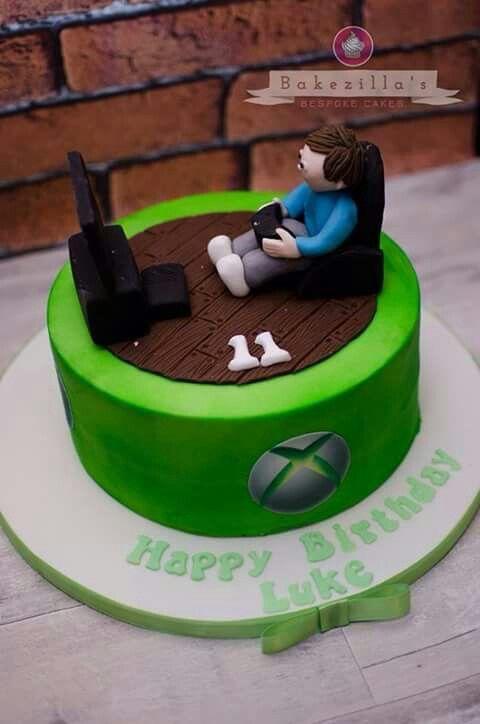 Xbox Cake Birthday Cake Ideas Pinterest Xbox Cake