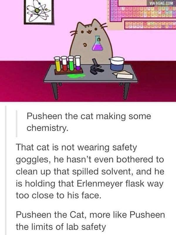safety goggles science always wear cartoon lab
