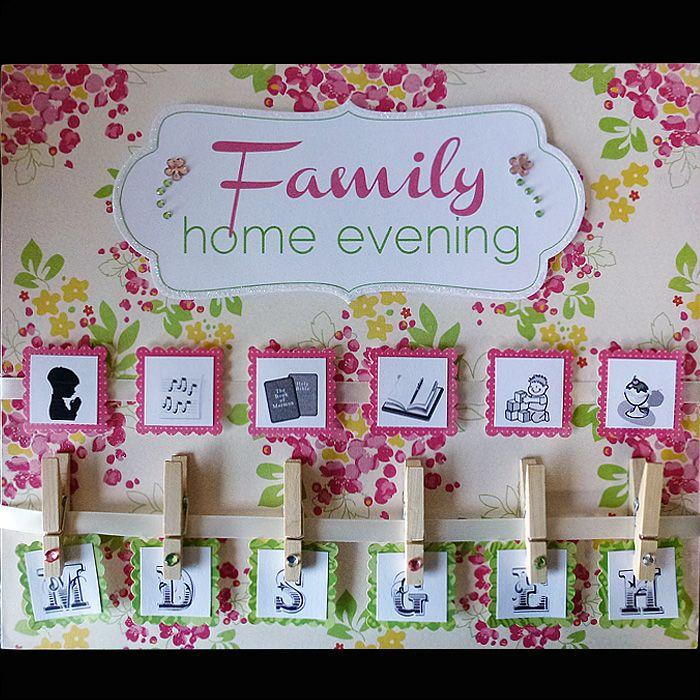 Family Home Evening Ideas