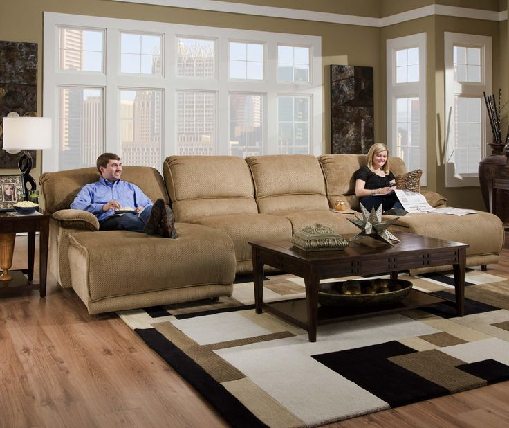Reclining Sectional Sofa Chaise