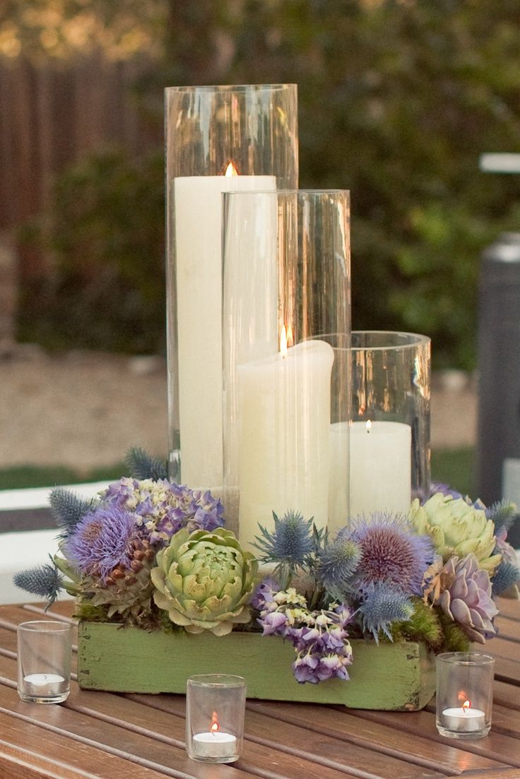 Zoo Wedding Centerpieces