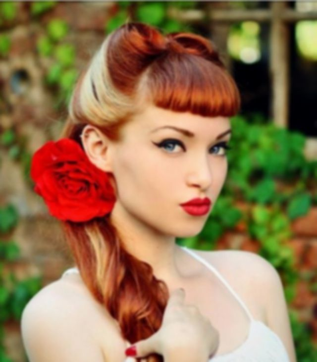 Pin Up Hair Style must learn how to do.. | Makeup/hair etc ...