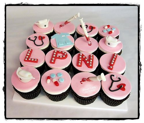 Nurses Week Cupcake Ideas