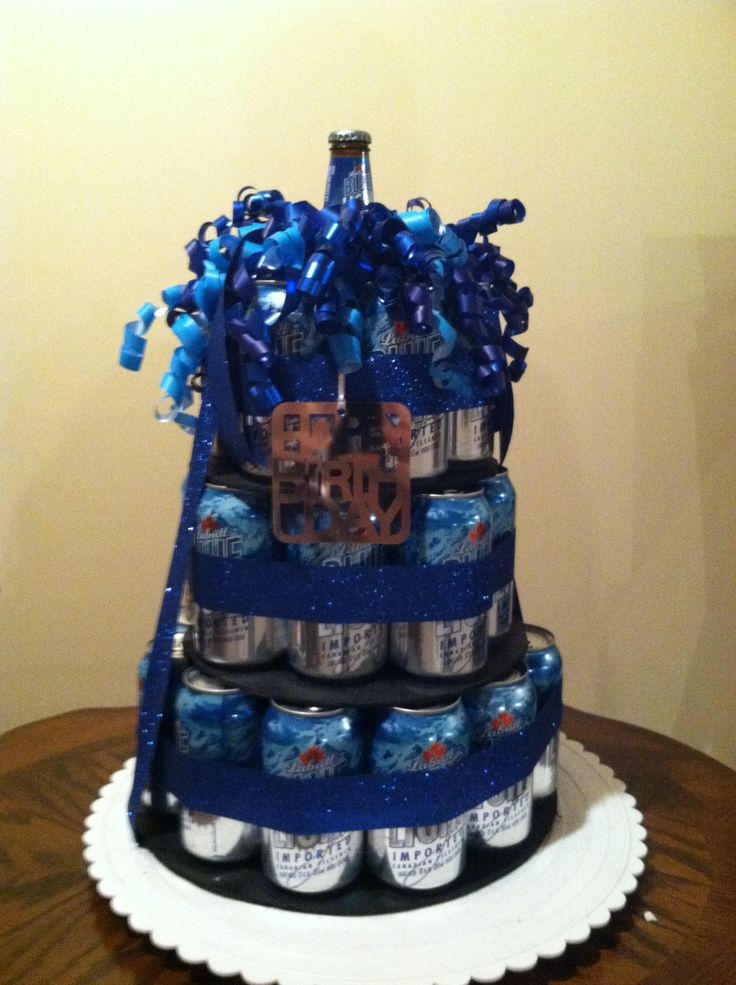 Beer Can Cake What You Do When Your Boyfriend Hates Cake