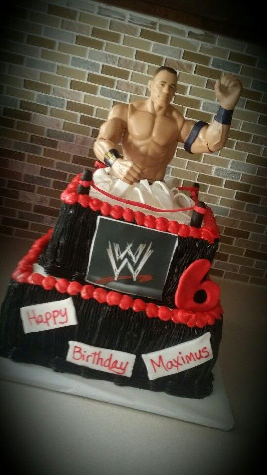 John Cena Cake Cakes I Made Pinterest John Cena