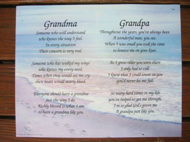 Poems I Love Grandma You