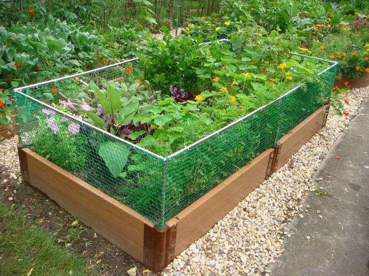 Pvc Raised Garden Box