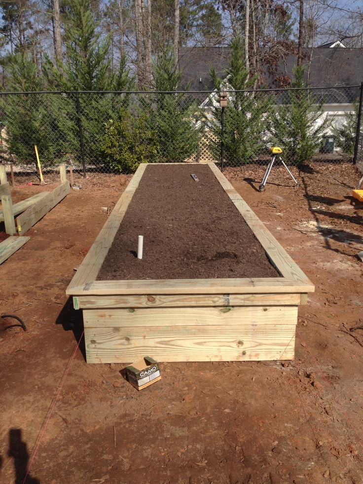 Above Ground Planter Ideas