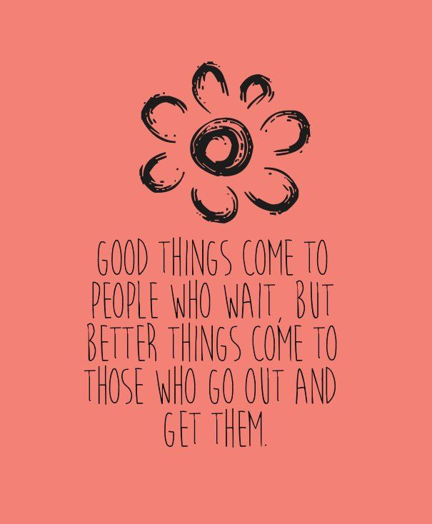 Nice People Good Things Come