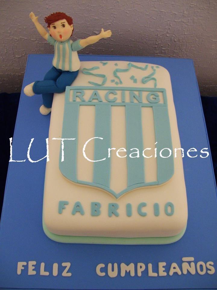 Torta Decorada Racing Club Tortas De Cumplea 241 Os Equipos