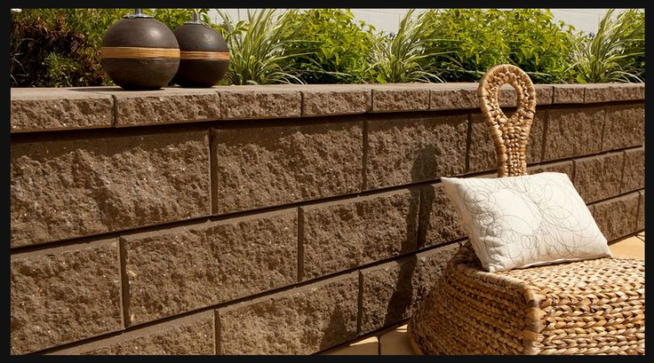 Wall Section Concrete Planter