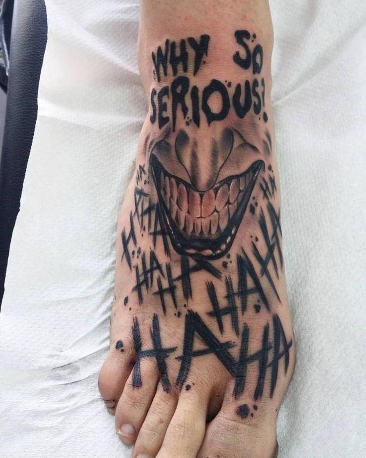 Symbol Batman Tattoo Joker Haha