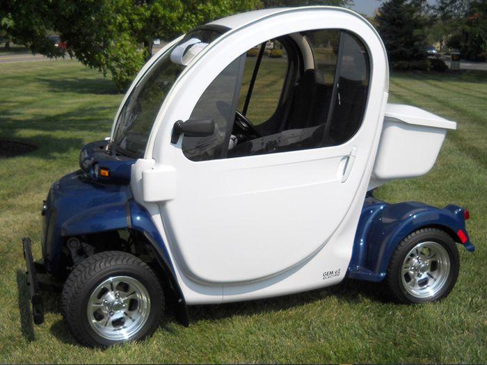 3 Wheel Electric Golf Carts