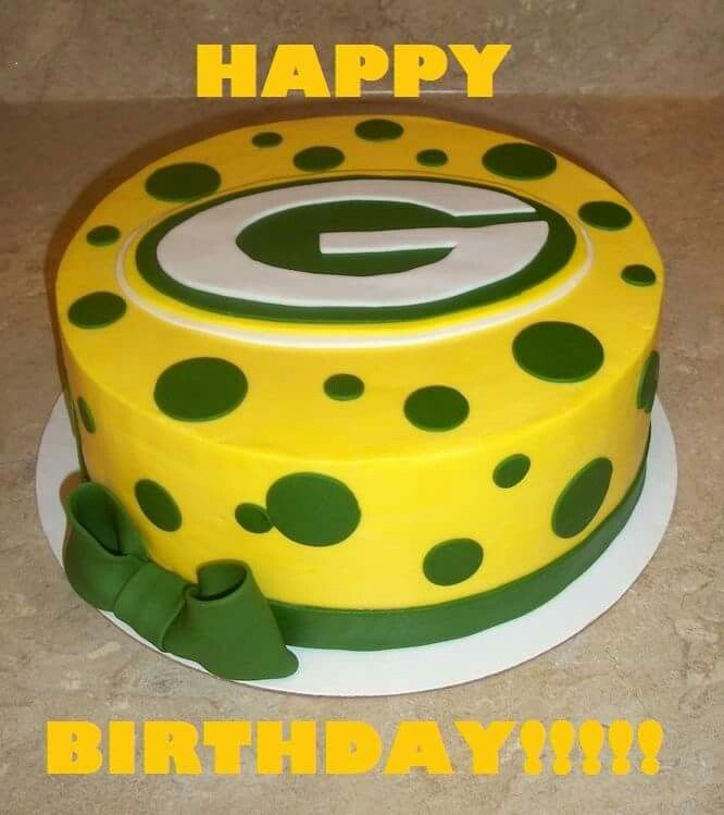 Green Bay Packers Happy Birthday