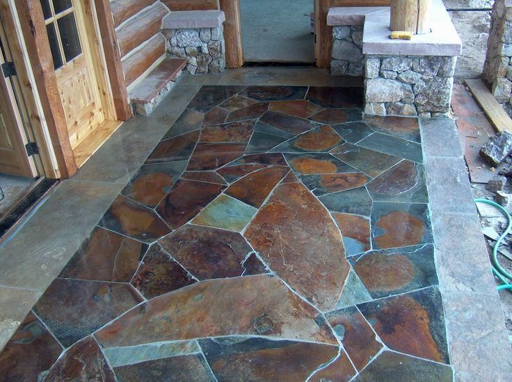 Concrete Floor Stencils