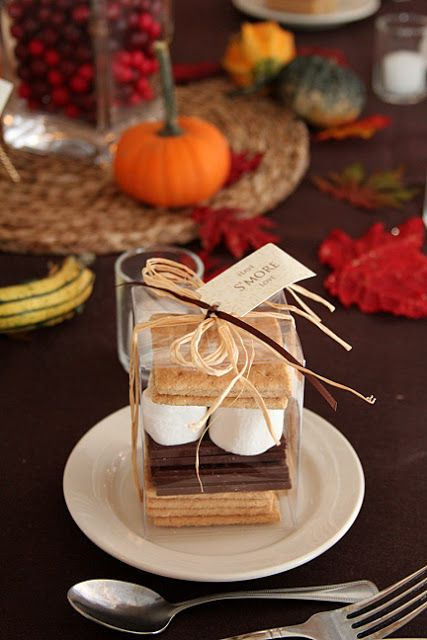 Fall Wedding Favor Ideas Cheap