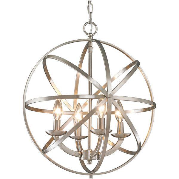 Metal Orb Pendant Light