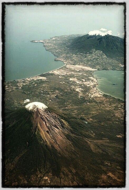 Nicaragua Lake Volcanoes
