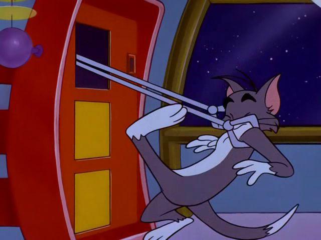 Catty Jerry And Tom Cornered