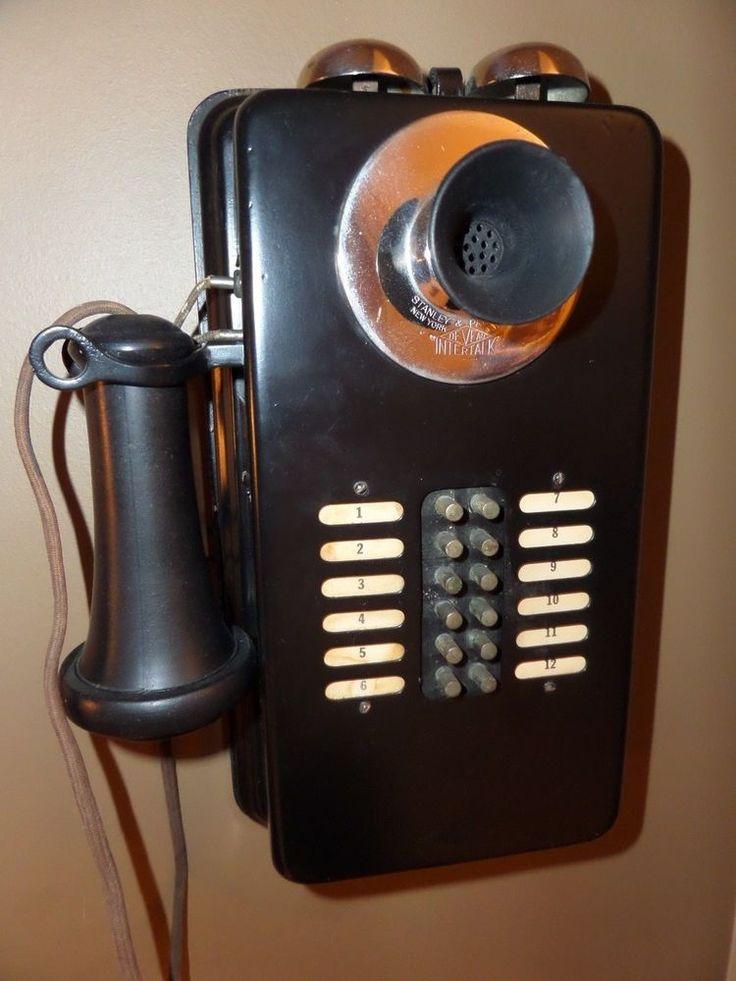 Old Bell Telephone Intercom
