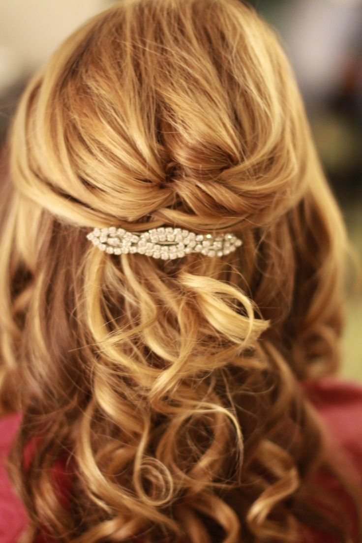 Long Wedding Hairstyles Half Up Page 1