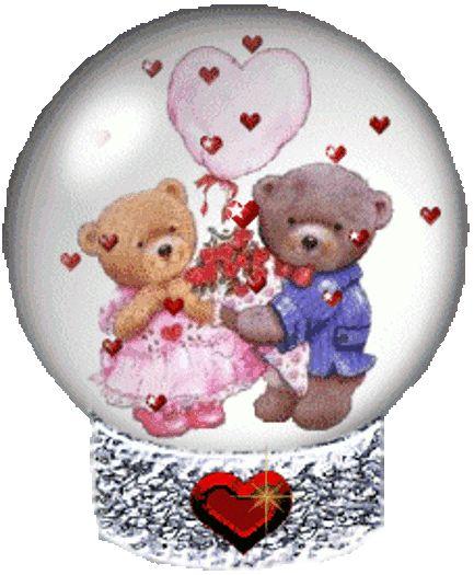 Bear Romantic Animation