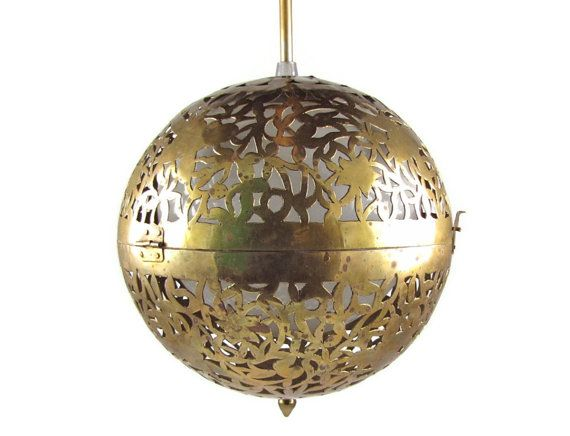 Large Crystal Ball Pendant Light