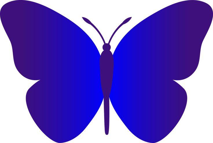 Morpho Butterfly Clip Art