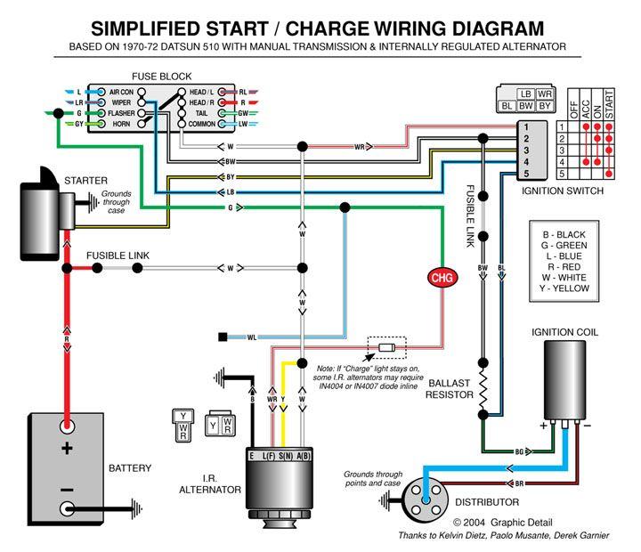 Cs130 Remy Wiring Alternator Diagram Delco