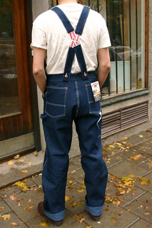 Low Back Bib Overalls Men