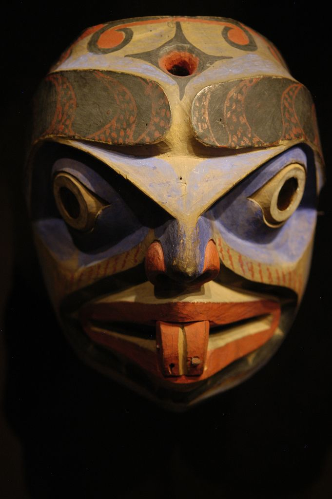 Pacific Northwest Native American Sun Masks