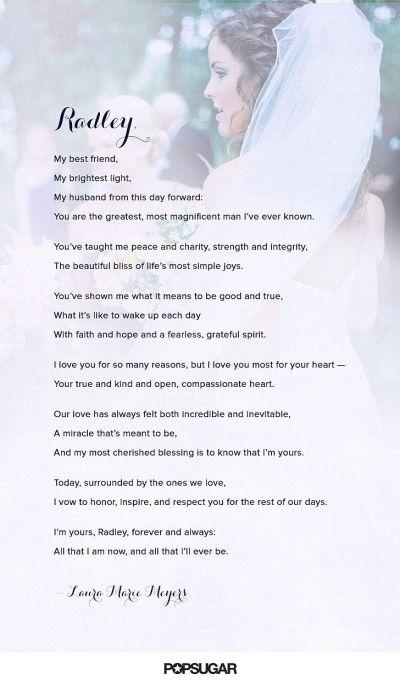 The Heartfelt Reason You Should Write Your Own Wedding ...