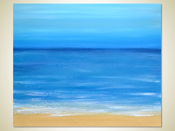 Easy Beach Paint Colors With Beautiful Ocean Scenes To