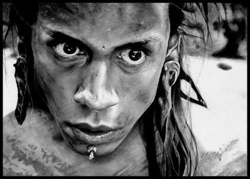 Apocalypto Tattoos Drawings