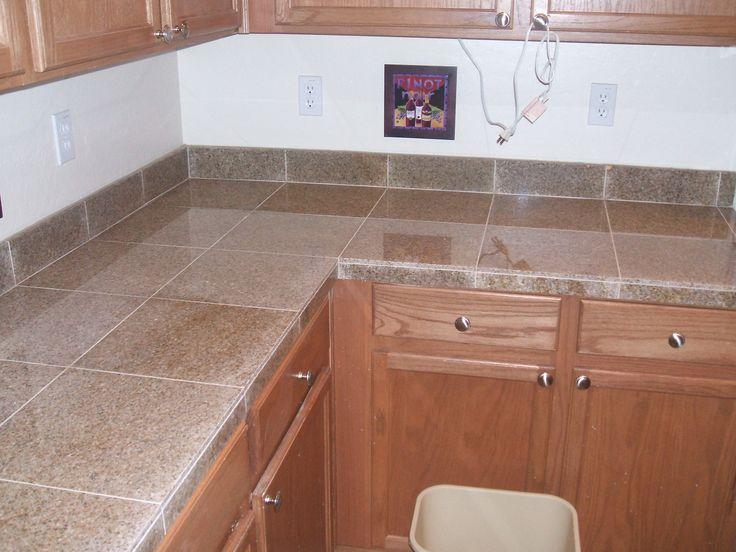 Granite Tile Kitchen Countertops
