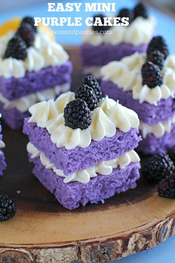 Easy Individual Desserts