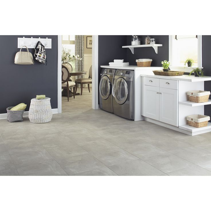 Luxury Vinyl Tile Kitchen
