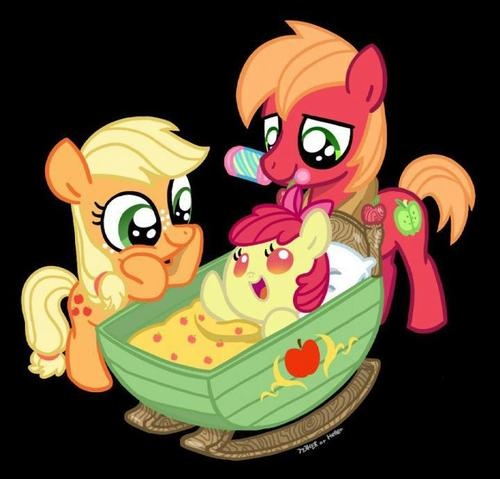 Fluttershy And Big Mac If Have Baby