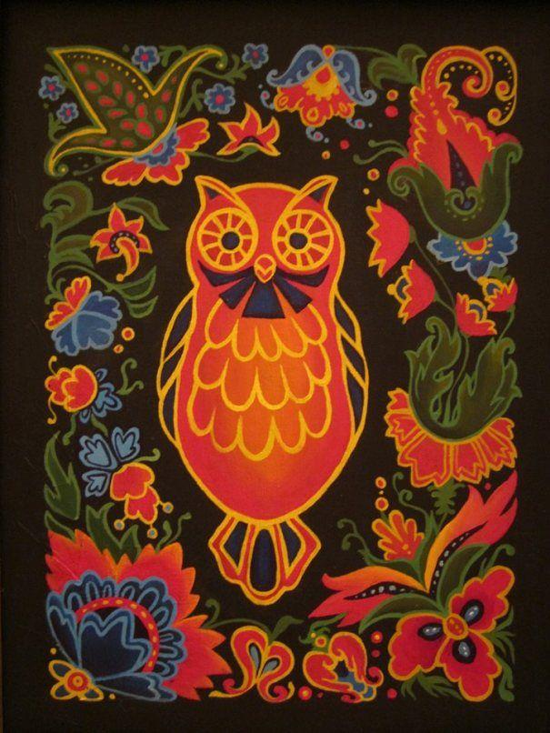Russian Folk Art Tattoo