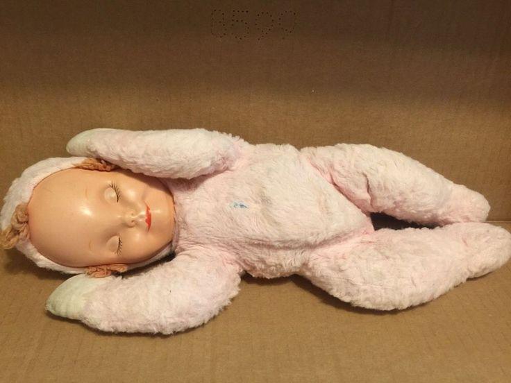 Plush Knickerbocker Dolls