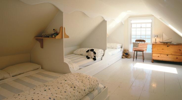 Built In Attic Beds Boys Room Pinterest Sleepover