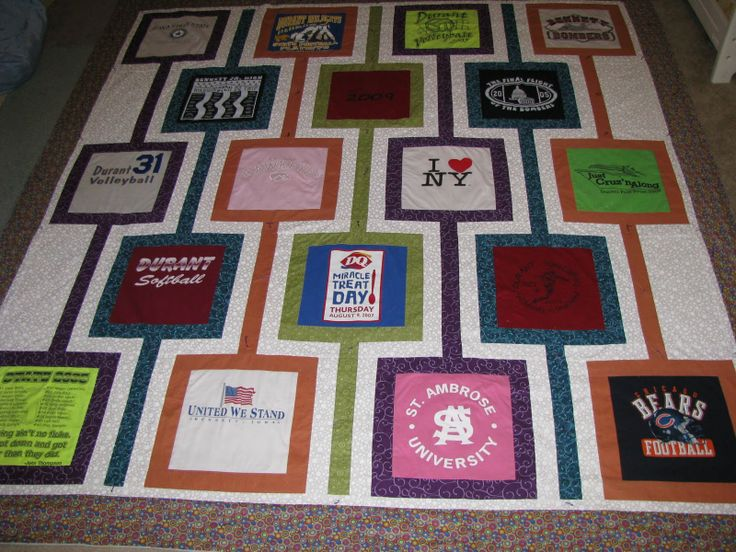 Too Cool T Shirt Quilts